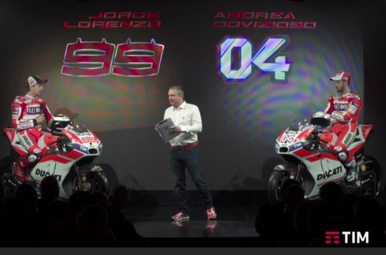 MotoGP | Ducati ha presentato la Desmosedici 2017