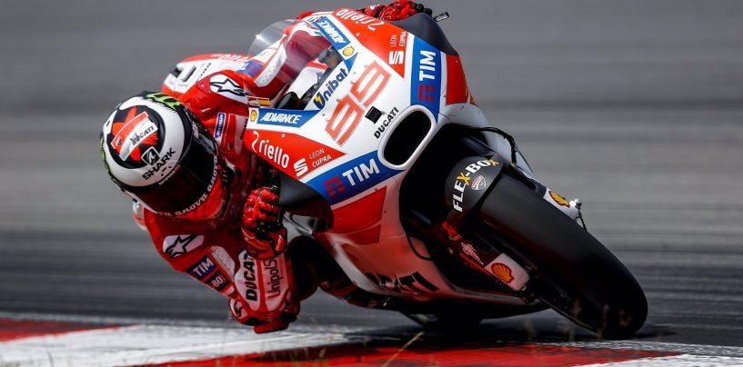 """<span class=""""entry-title-primary"""">Finalmente Lorenzo!</span> <span class=""""entry-subtitle"""">Alla quarta gara il primo podio con la Ducati</span>"""