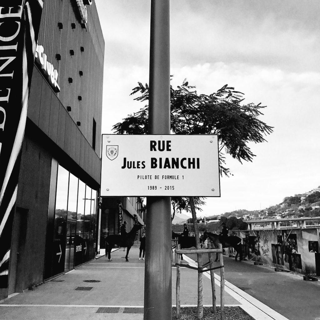 F1   È nata Rue Jules Bianchi