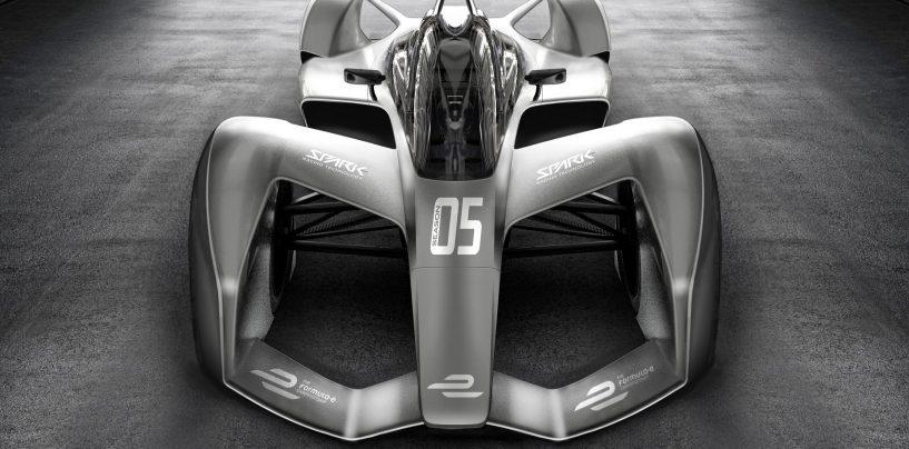 """<span class=""""entry-title-primary"""">Formula E   Ecco il concept della nuova Spark SRT-05</span> <span class=""""entry-subtitle"""">Più leggera e dalle forme estreme: la vettura francese debutterà nella quinta stagione</span>"""