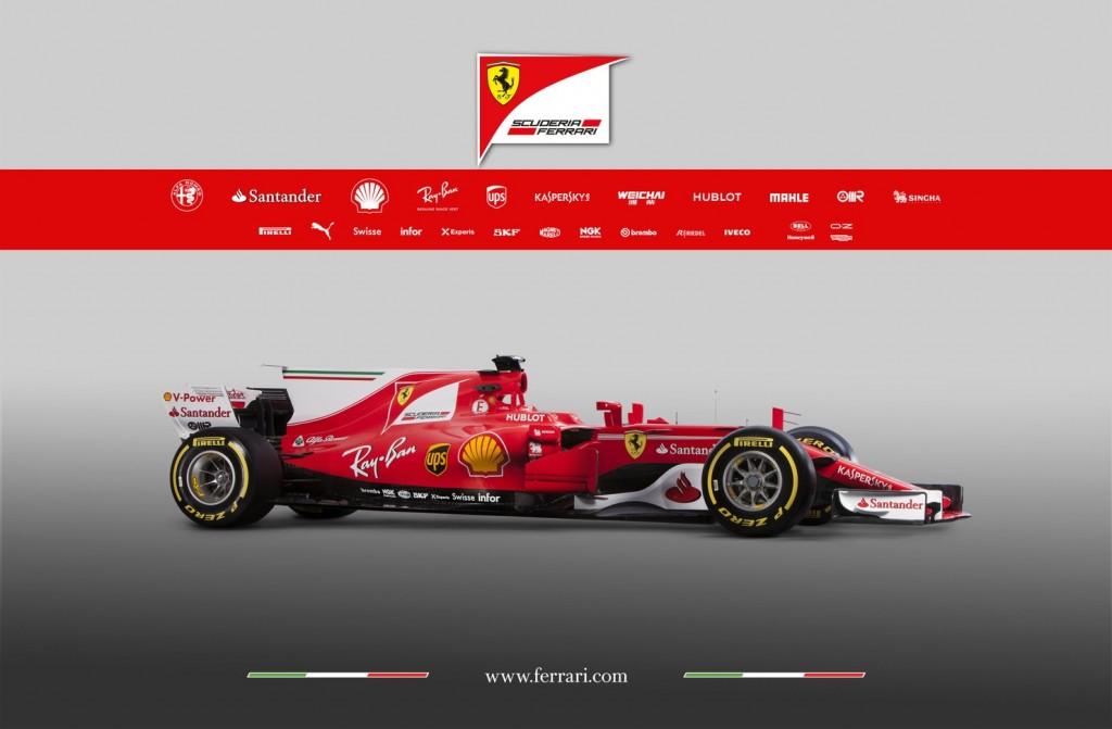 F1 | Presentata la nuova Ferrari SF70-H 5
