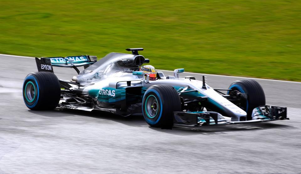 F1   Presentata la nuova Mercedes W08