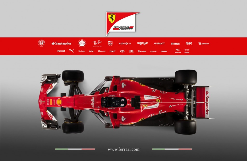 F1 | Presentata la nuova Ferrari SF70-H 6