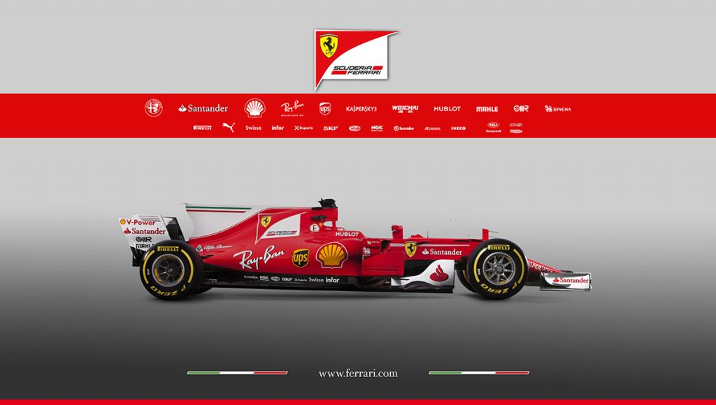 F1   Presentata la nuova Ferrari SF70-H 2