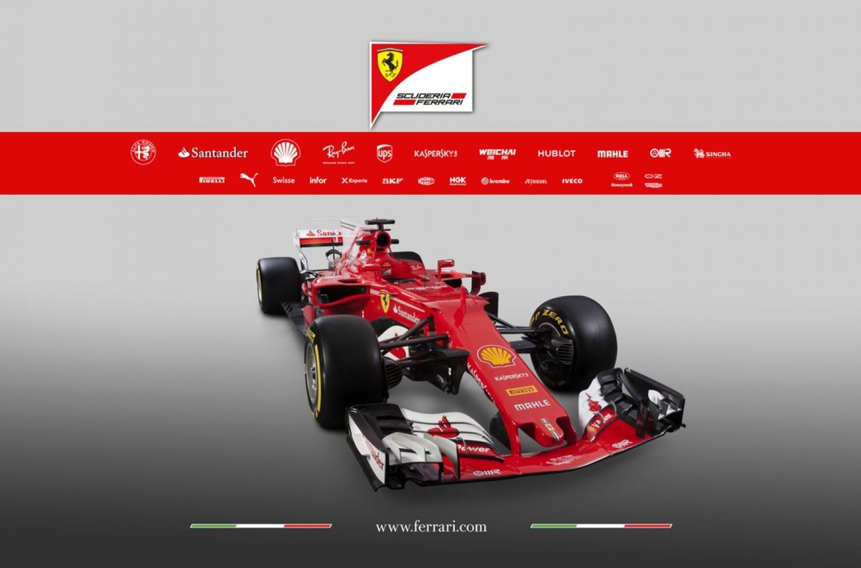 F1   Presentata la nuova Ferrari SF70-H