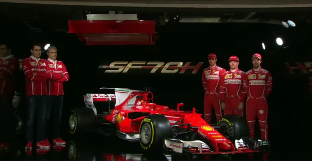 F1   Presentata la nuova Ferrari SF70-H 1