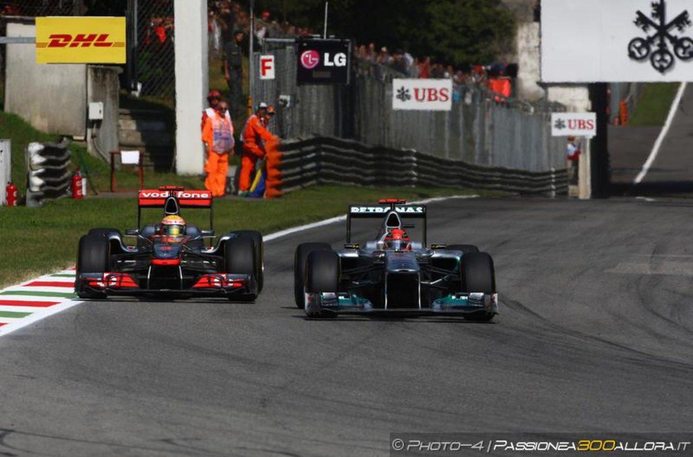 Monza 2011: un nuovo video per una battaglia epica tra Michael e Lewis