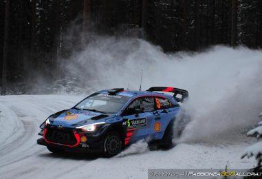 WRC   Svezia: un Neuville incontrastabile domina nel pomeriggio