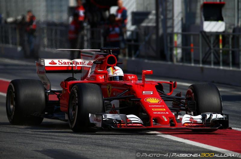 F1 | Test day 1: Vettel in testa al mattino