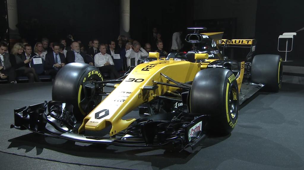 F1 | Presentata la nuova Renault R.S.17