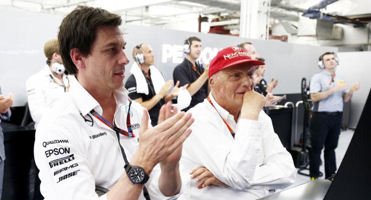 F1 | Wolff e Lauda in Mercedes fino al 2020