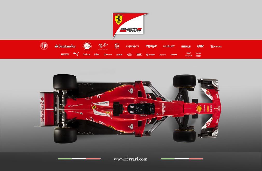 F1 | Presentata la nuova Ferrari SF70-H 3