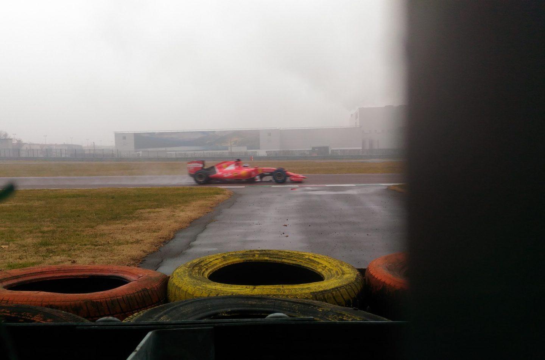 F1 | Test sul bagnato per Giovinazzi