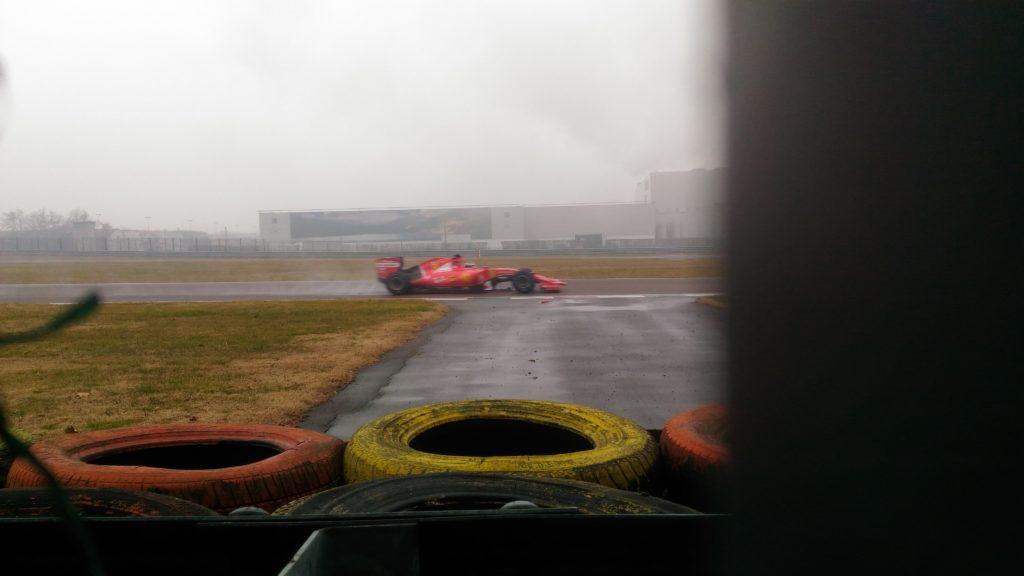 F1   Test sul bagnato per Giovinazzi