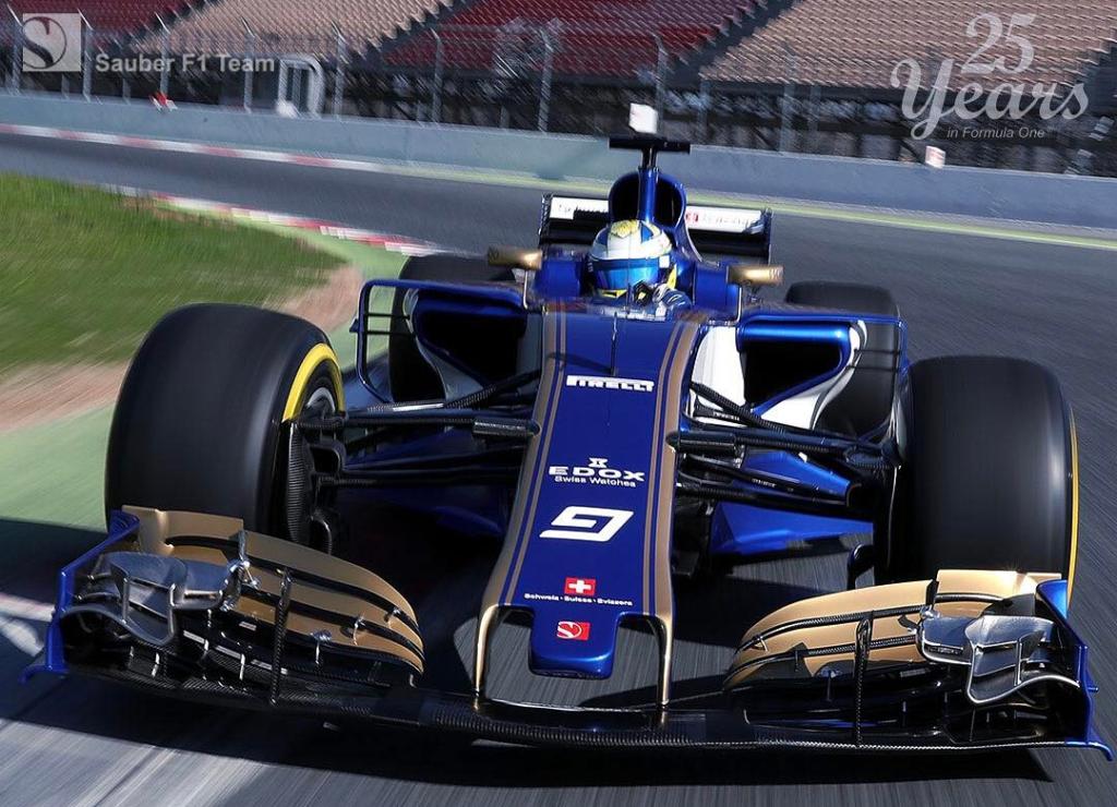 F1 | Primi giri per la Sauber C36 a Barcellona