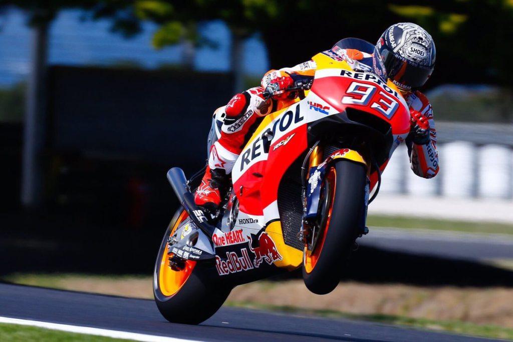 MotoGP | I test di Phillip Island iniziano nel segno di Márquez
