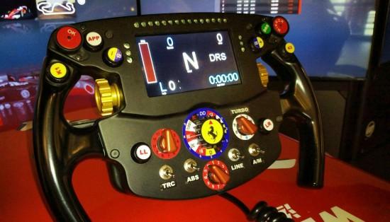 [Video] Un quarto d'ora da pilota... al simulatore Ferrari 4