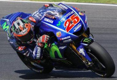 MotoGP   Viñales leader nel secondo giorno, ancora difficoltà per Lorenzo