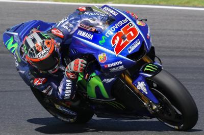 MotoGP | Viñales leader nel secondo giorno, ancora difficoltà per Lorenzo