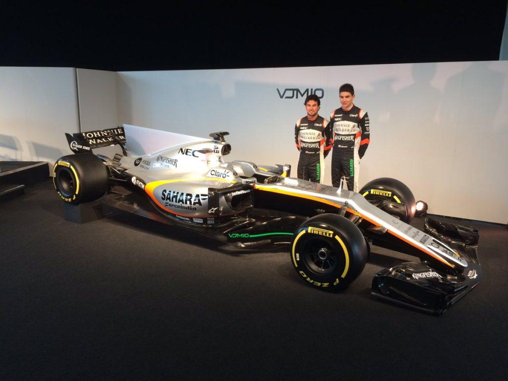 F1   Presentata la nuova Force India VJM10