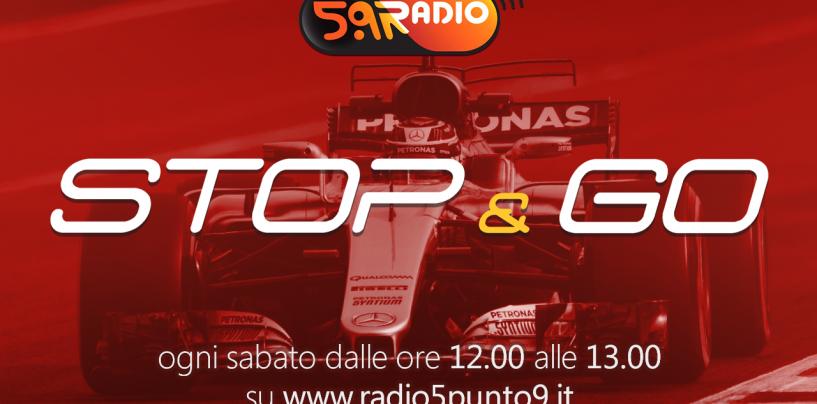 """<span class=""""entry-title-primary"""">""""Stop&Go"""" live sabato 4 marzo alle ore 12.00 su Radio 5.9</span> <span class=""""entry-subtitle"""">La trasmissione di Passione a 300 all'ora in diretta fino alle 13</span>"""
