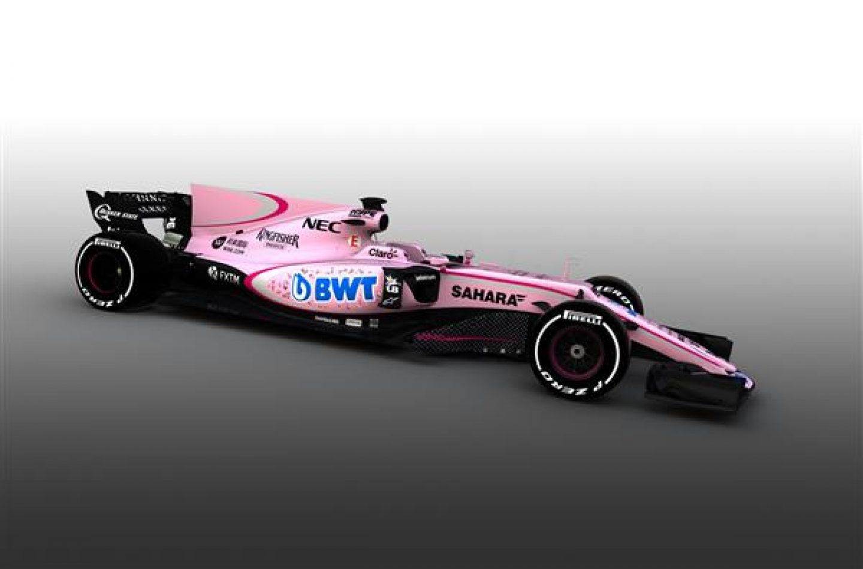 F1 | Force India: cambio radicale di livrea