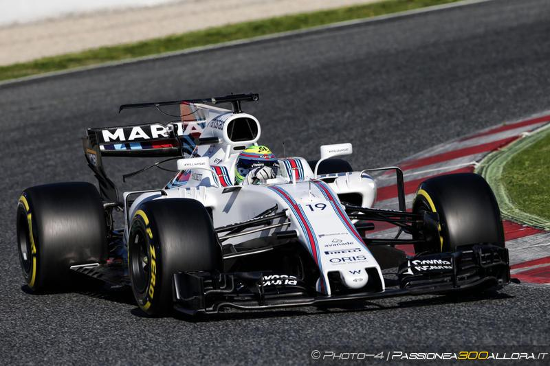 F1 | Test day 5: Massa al top in mattinata, ma c'è anche Ricciardo