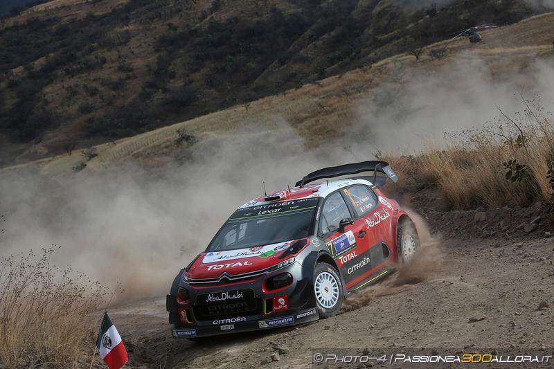 WRC | Messico: Meeke allunga approfittando di un errore di Ogier