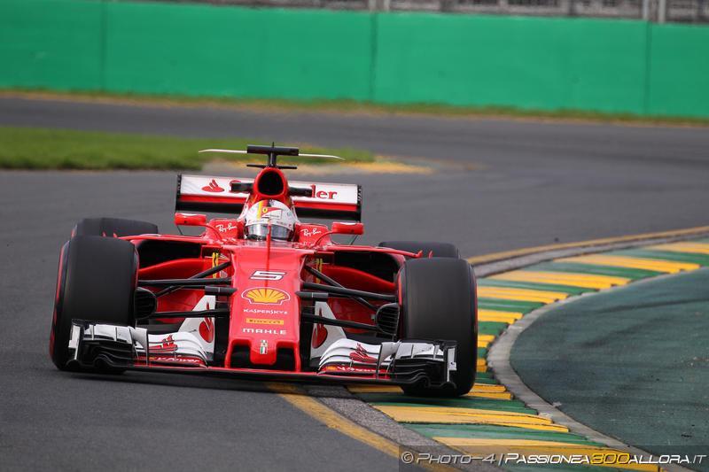F1 | GP Australia, FP3: Vettel davanti a tutti con la Ferrari