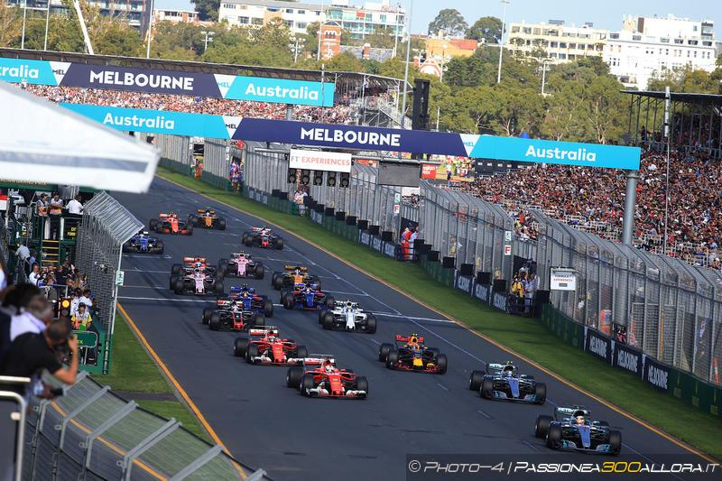 F1 | GP d'Australia: la gara dei primi dieci