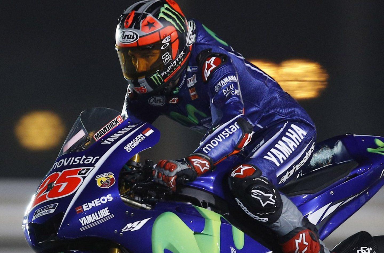MotoGP   Qatar: Viñales è il padrone, Dovizioso e Rossi sul podio