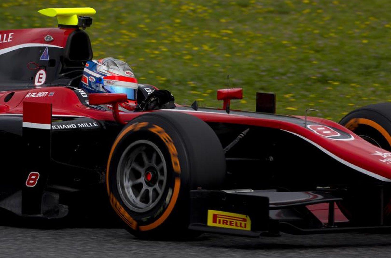 F2 | Albon leader nella seconda giornata di test a Barcellona