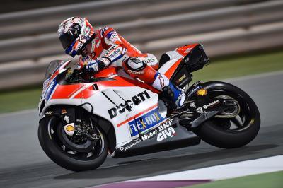 MotoGP | I test in Qatar si aprono nel segno di Dovizioso