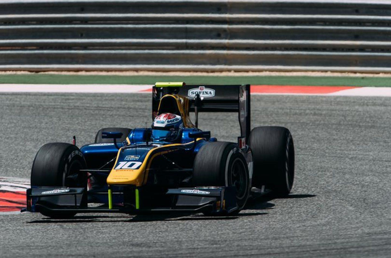 F2   Latifi leader nella seconda giornata in Bahrain, Ghiotto subito dietro