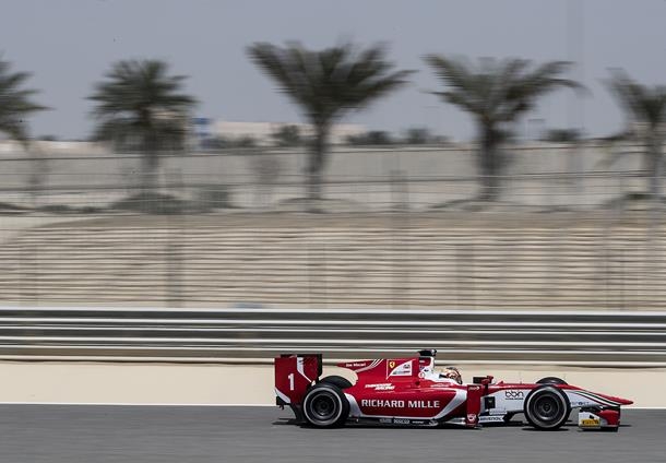 F2 | Leclerc apre i test in Bahrain
