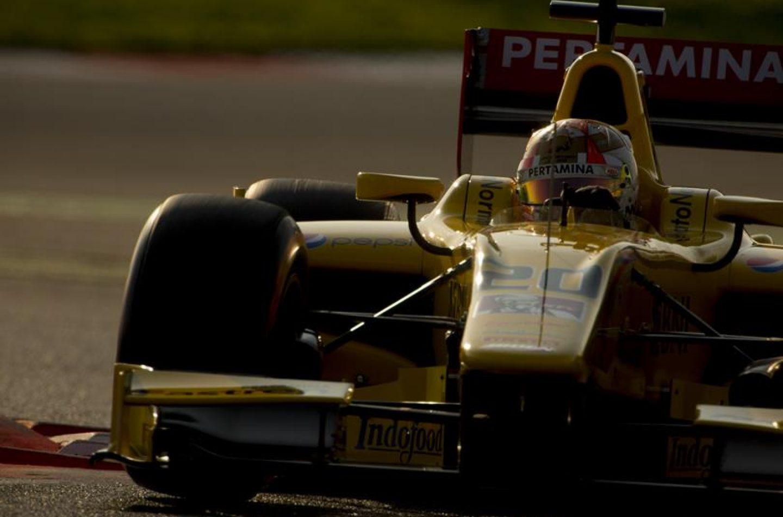 F2   Nato è primo a Barcellona, Ghiotto al top nel pomeriggio