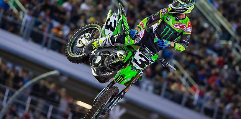 "<span class=""entry-title-primary"">Supercross, round di Daytona: vince Tomac</span> <span class=""entry-subtitle"">Dungey solamente 4°, il campionato è riaperto</span>"