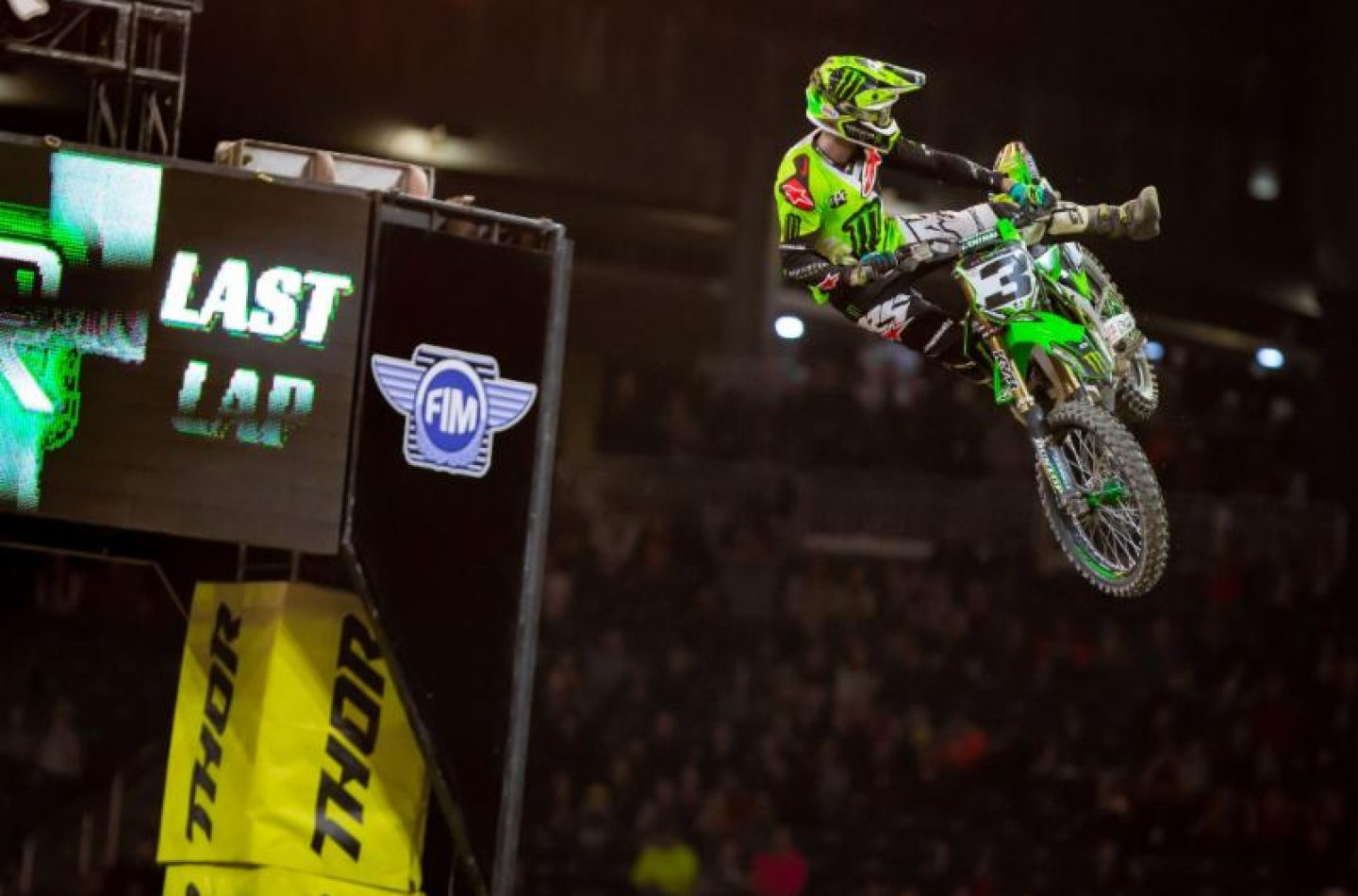 Supercross Usa: Tomac cala il poker a Detroit