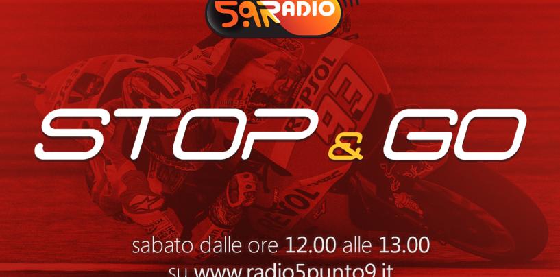 """<span class=""""entry-title-primary"""">""""Stop&Go"""" live sabato 29 aprile alle ore 12.00 su Radio 5.9</span> <span class=""""entry-subtitle"""">La trasmissione di Passione a 300 all'ora in diretta fino alle 13</span>"""