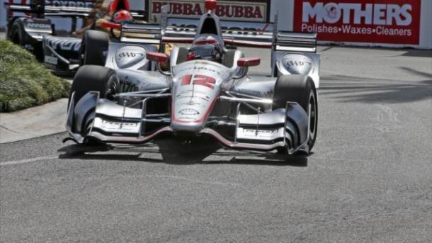 Indycar   Power si porta al comando nelle libere 2 a Long Beach