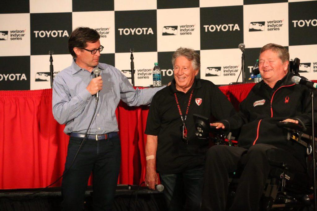 Indycar | Sam Schmidt e Mario Andretti avversari per beneficenza ad Indy Road