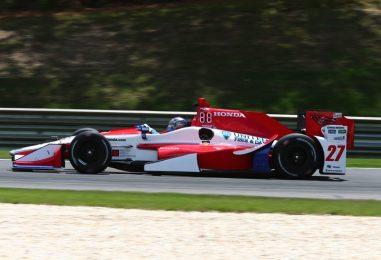 Indycar   Andretti il più veloce nel venerdì di Barber