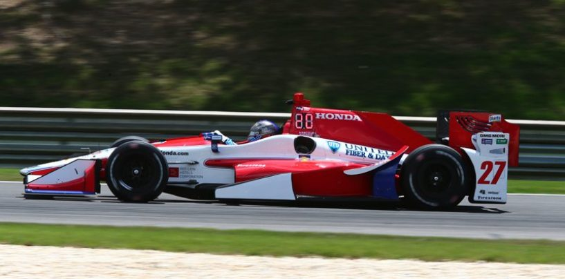 """<span class=""""entry-title-primary"""">Indycar   Andretti il più veloce nel venerdì di Barber</span> <span class=""""entry-subtitle"""">È di Pagenaud invece il miglior tempo nel turno mattutino</span>"""