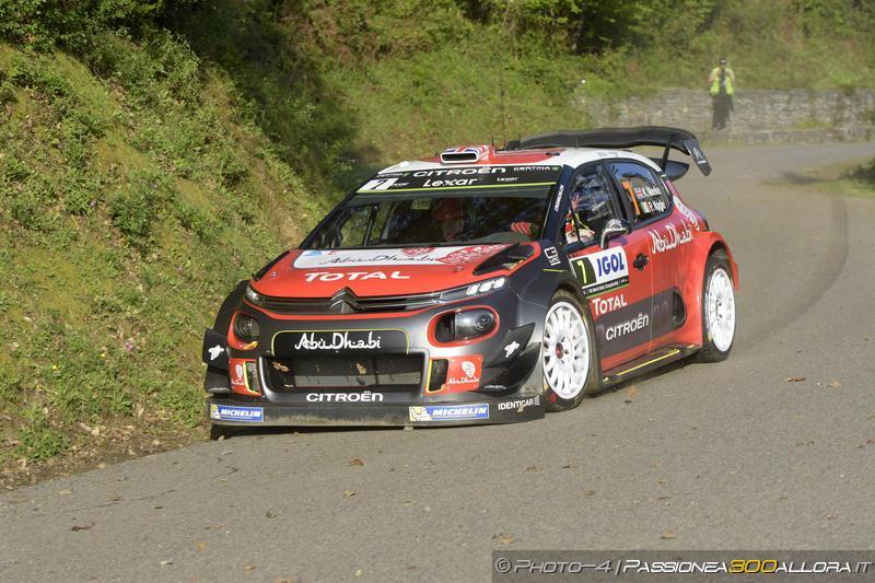 WRC | Corsica: partenza sprint per Meeke, Ogier e Neuville inseguono