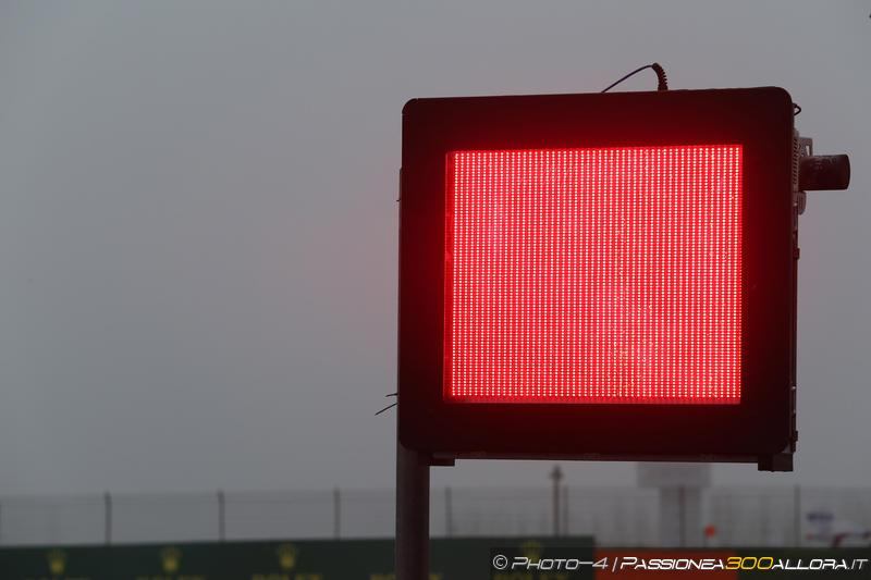 F1 | GP Cina, anche la FP2 resa vana dal maltempo