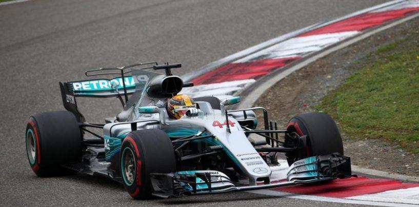 "<span class=""entry-title-primary"">F1 | GP Cina, Hamilton pole fantastica, a fianco a lui Vettel</span> <span class=""entry-subtitle"">Bottas terzo, Raikkonen quarto nelle qualifiche a Shanghai</span>"