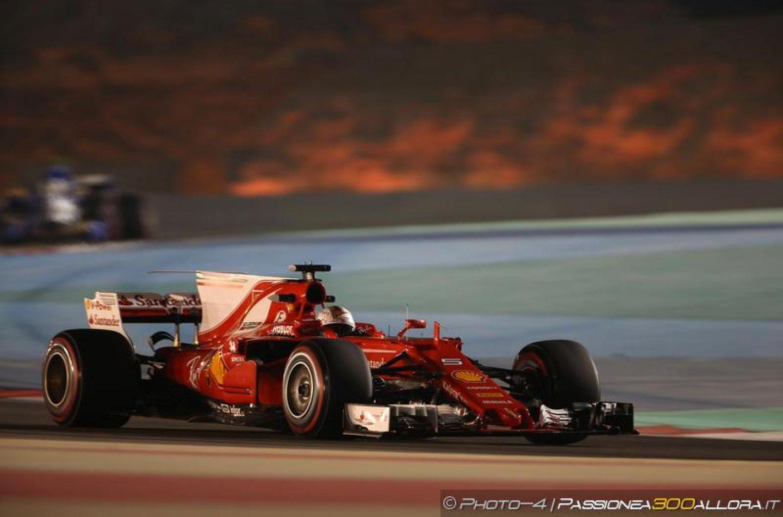 F1   GP Bahrain: Vettel trionfa con la Ferrari a Sakhir!