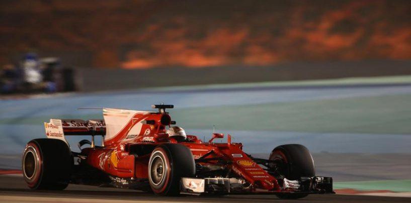 "<span class=""entry-title-primary"">F1 | GP Bahrain: Vettel trionfa con la Ferrari a Sakhir!</span> <span class=""entry-subtitle"">Hamilton non riesce a riagguantare il tedesco, 3° Bottas. Raikkonen 4°.</span>"