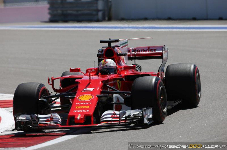 F1 | GP Russia: Vettel sale in cattedra nella FP2, doppietta Ferrari