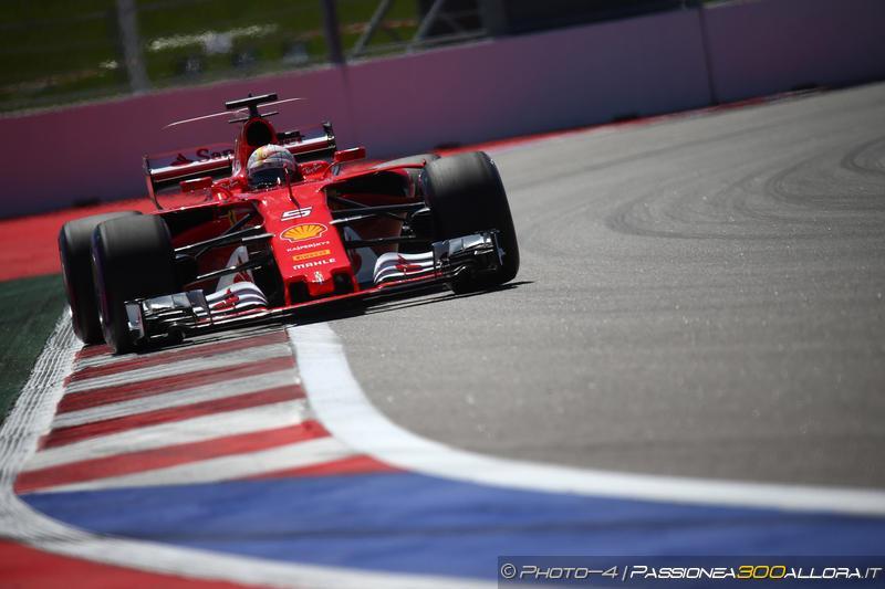 F1 | GP Russia, doppietta Ferrari in qualifica! Vettel in pole su Raikkonen